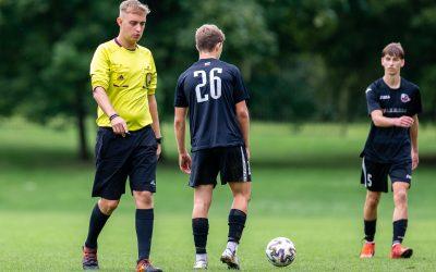 """""""FK Sūduvos"""" U-17 futbolininkai iškovojo antrąją pergalę namuose"""