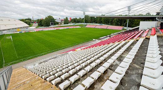 Stadiono-tribūnos
