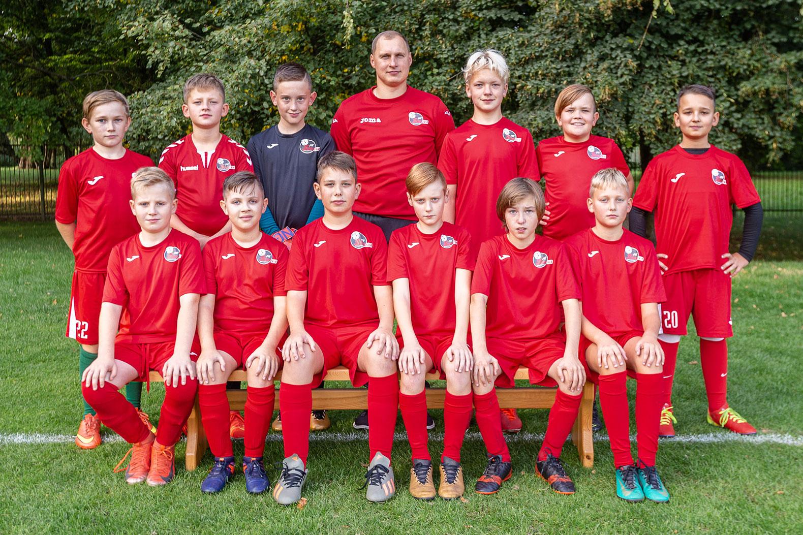 U12  berniukų futbolo komanda