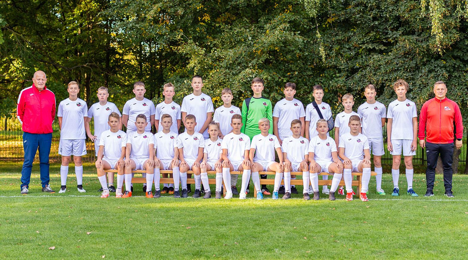 U14 berniukų futbolo komanda