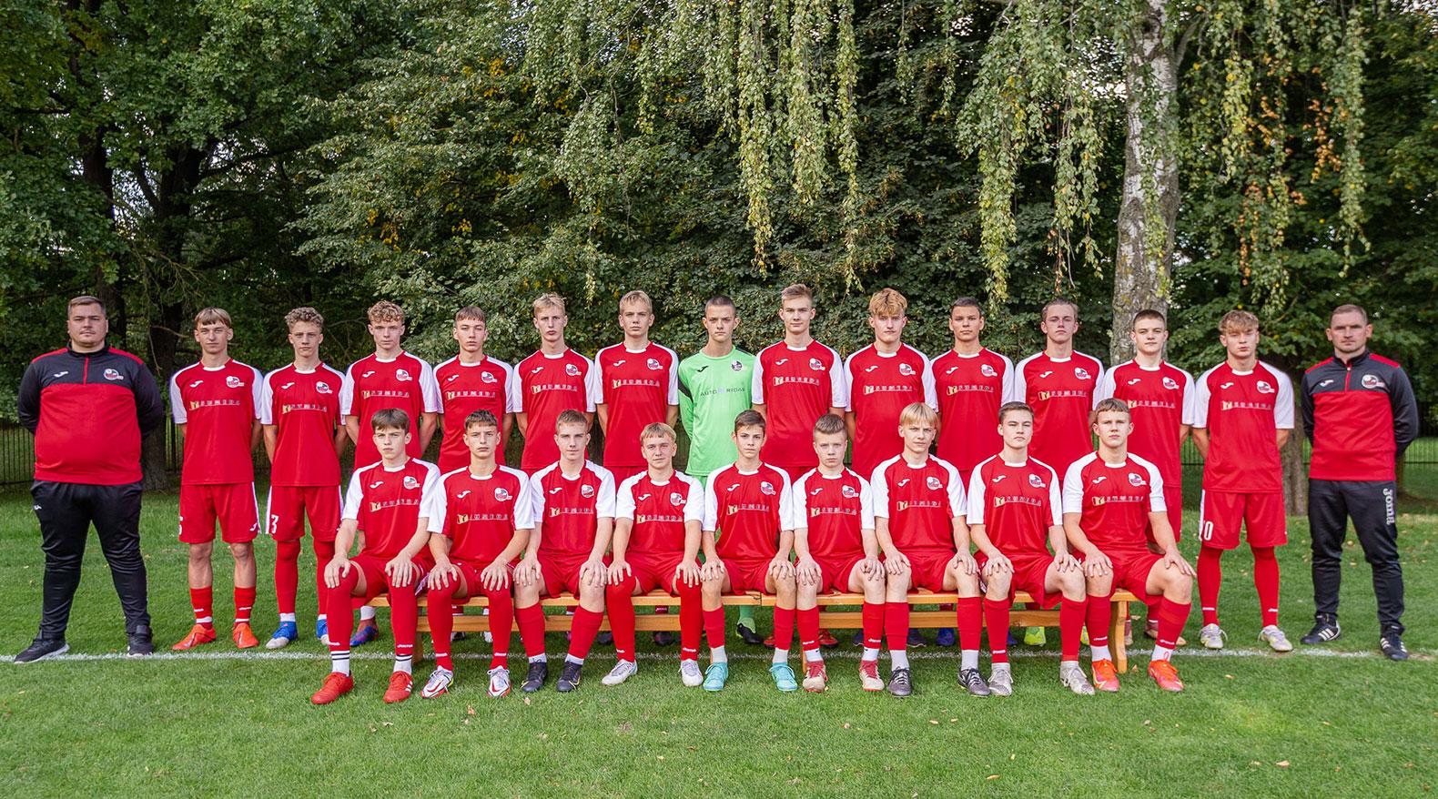 U17 berniukų futbolo komanda