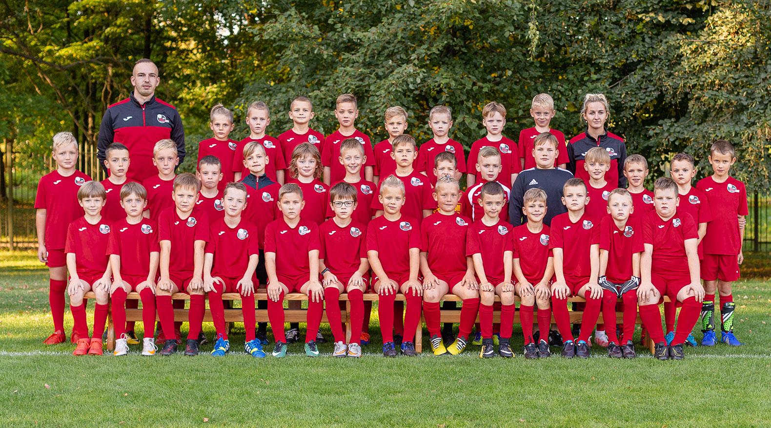 U9 berniukų futbolo komanda